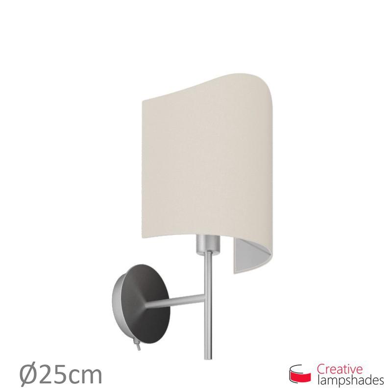 Toile Pour Murale Jour Abat Modelée Applique Sable Lampe Revêtement SUMzGqVp