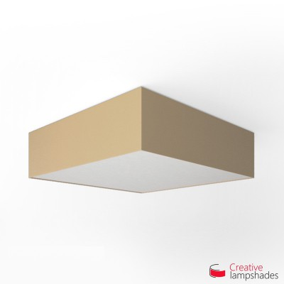 Square ceiling lamp with Hazel Canvas cover