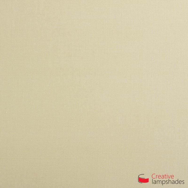 Rechteckige Deckenleuchte mit Haselnuss Leinwand Bezug