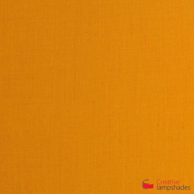 Rechteckige Deckenleuchte mit Tieforange Leinwand Bezug