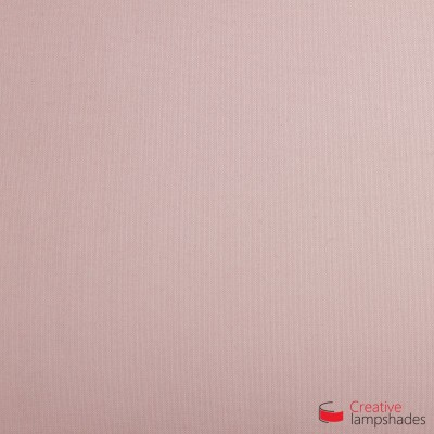 Square ceiling lamp with Pink Canvas cover