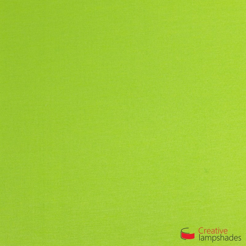 Square ceiling lamp with Pistachio Green Cinette cover
