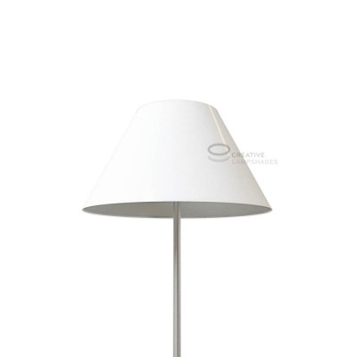 Chinese lampshade with White Lumiere covering