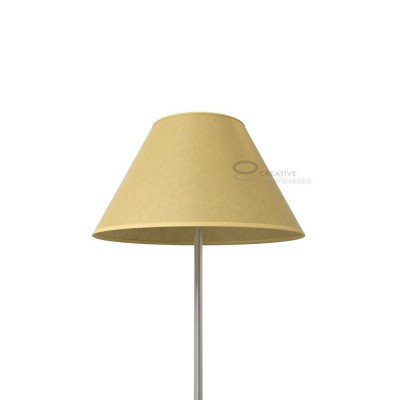 Chinese lampshade with Yellow Parchment covering