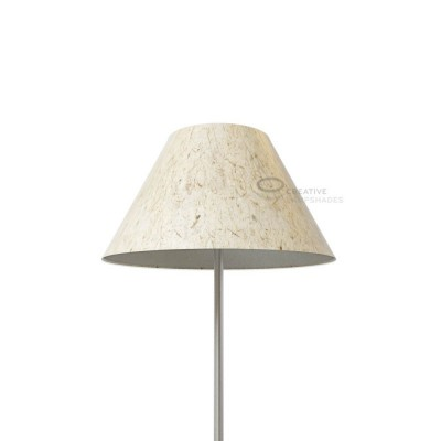 Chinese lampshade with Banana Paper covering
