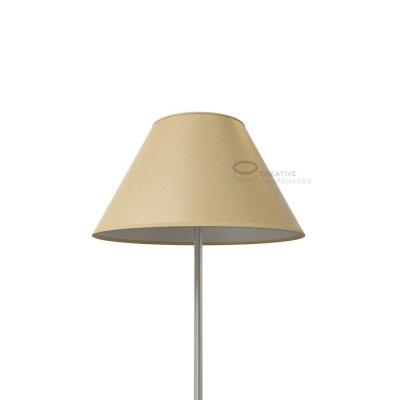 Chinese Lampenschirm Jute Palmenblatt