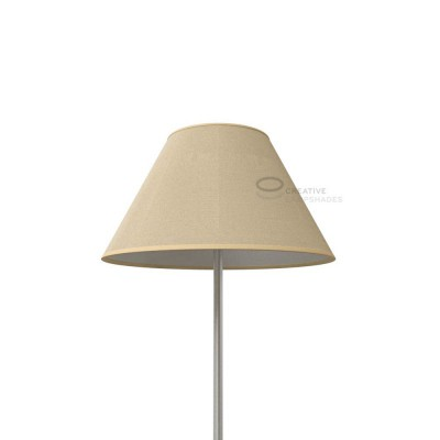 Chinese lampshade with Natural Jute covering