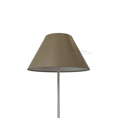 Chinese lampshade with Grey Arenal covering