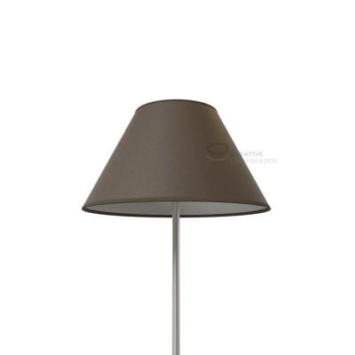 Chinese Lampenschirm Aschegrau Leinwand
