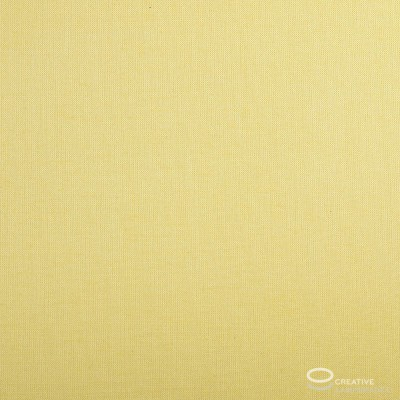 Empire Lamp Shade Pale Yellow Canvas covering