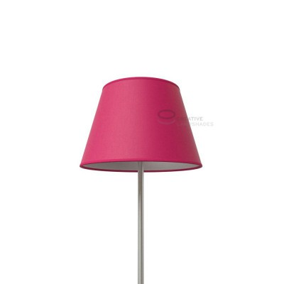 Empire Lamp Shade Fuchsia Pink Canvas covering