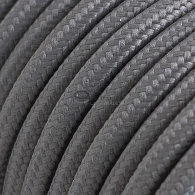 Pendel für Lampenschirm mit Grau Seideneffekt kabel