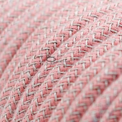 Pendel für Lampenschirm mit Zick Zack Ancient Pink kabel