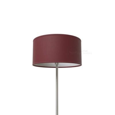 Burgundy Canvas Cylinder Lamp Shade