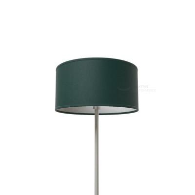 Dark Green Canvas Cylinder Lamp Shade