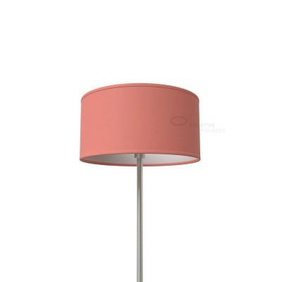 Antique Pink Cinette Cylinder Lamp Shade