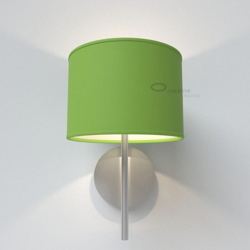 Lampenschirm Zylinder Pistazien Grun Cinette
