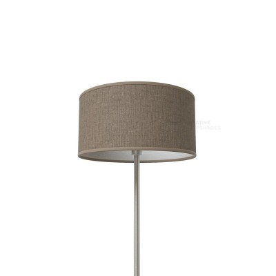 Grey Camelot Cylinder Lamp Shade
