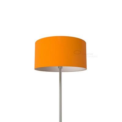 Paralume Cilindro Rivestimento Lumiere Arancio