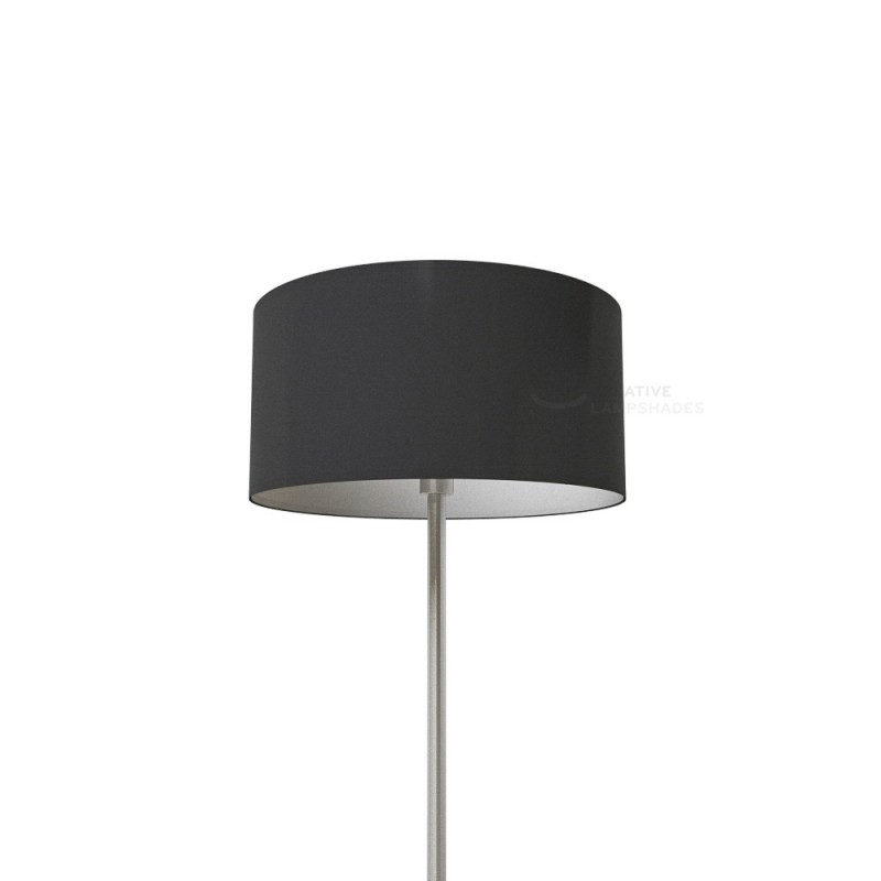 Black Lumiere Cylinder Lamp Shade