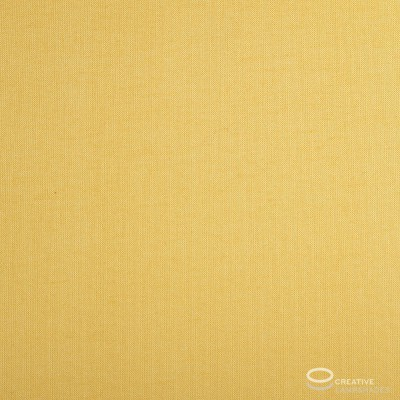 Parallelepiped Lampshade with Golden Yellow Canvas covering