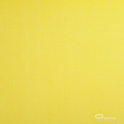 Parallelepiped Lampshade with Bright Yellow Canvas covering