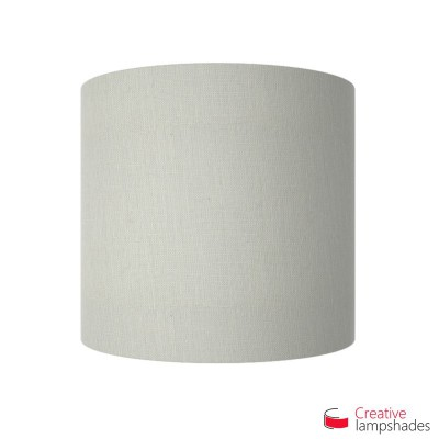 Half Cylinder Wall Lampshade White Raw cotton with  box