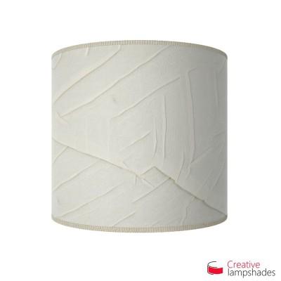 Half Cylinder Wall Lampshade Milk Palmeras with  box