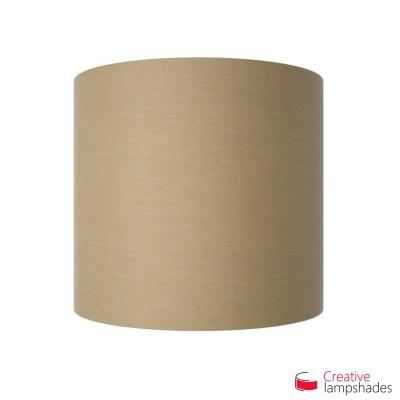 Wand Lampenschirm Zylinder halbrund ink Anschlussdose (Aufputz) turtelbraun Arenal Bezug