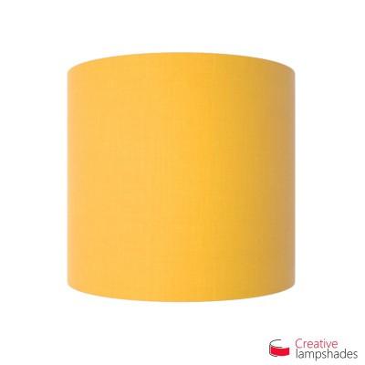 Paralume Ventola Cilindrica a parete con Scatolina Teletta Giallo Oro